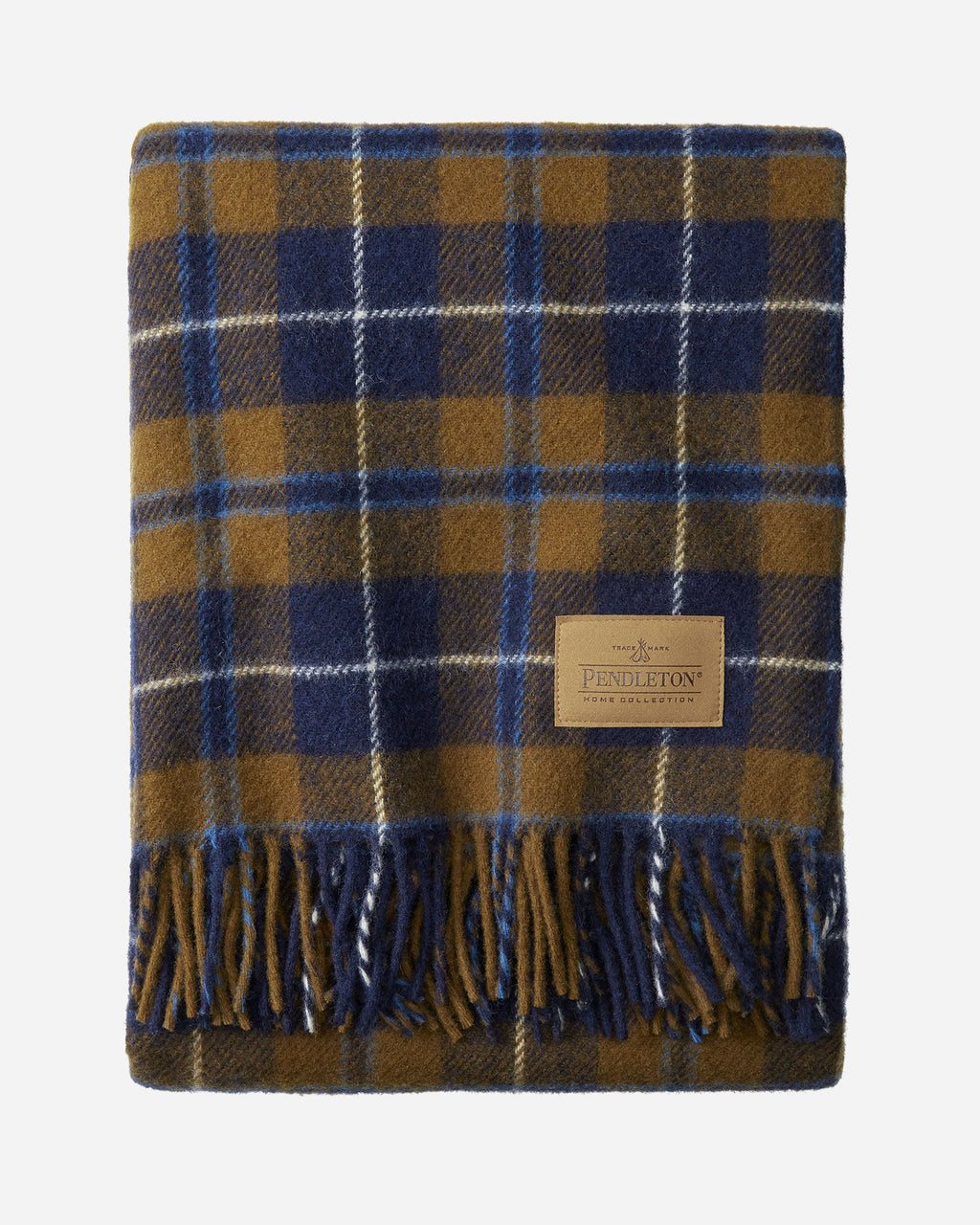 PENDLETON - Motor Robe with Leather Carrier - DOUGLAS TARTAN