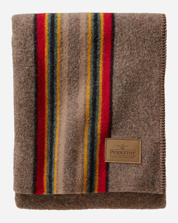 PENDLETON -  YAKIMA MINERAL UMBER throw