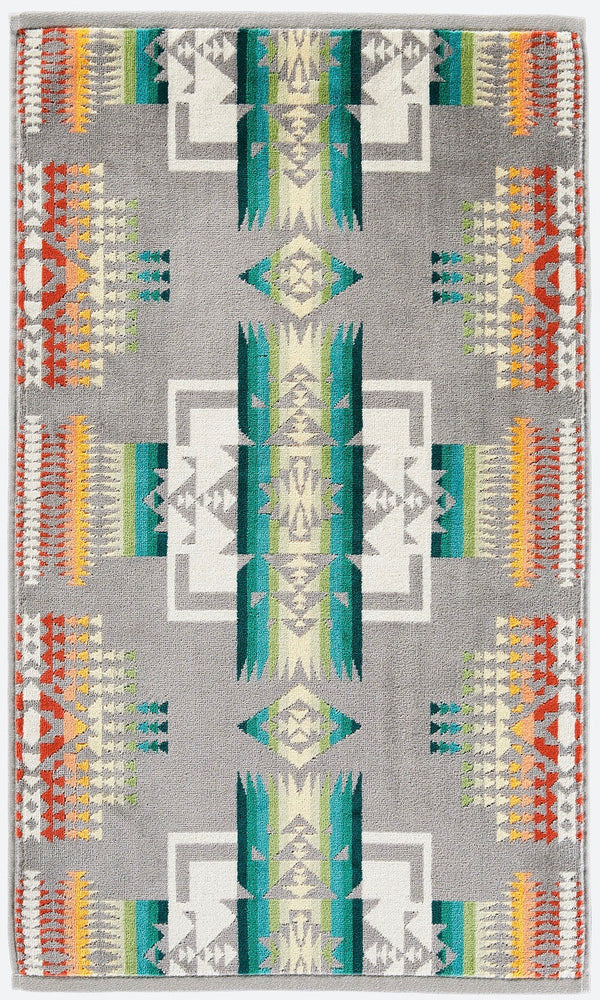 PENDLETON - Chief Joseph HAND TOWEL GREY