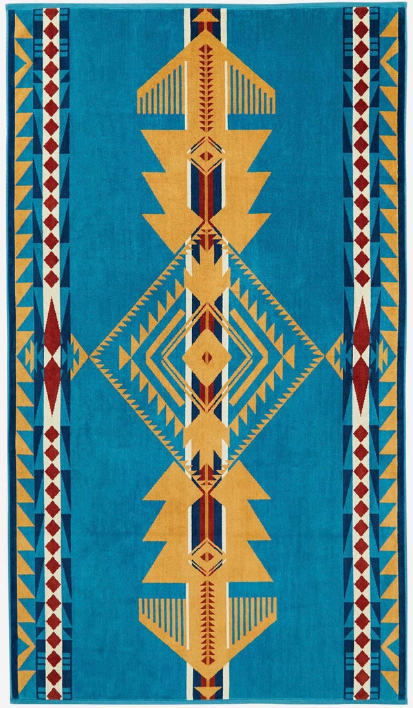 PENDLETON - OVERSIZED JACQUARD TOWEL -  Eagle Gift