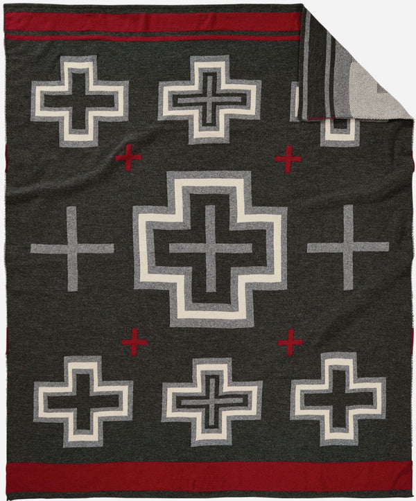 PENDLETON - knit jacquard throw - SAN MIGUEL