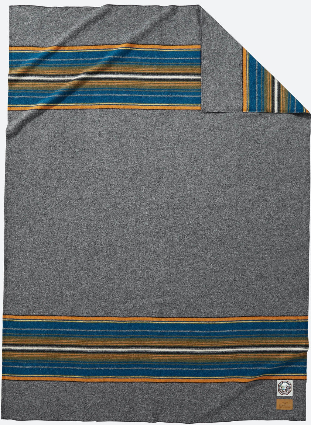 PENDLETON -  NATIONAL PARK - Olympic Grey Throw Blanket