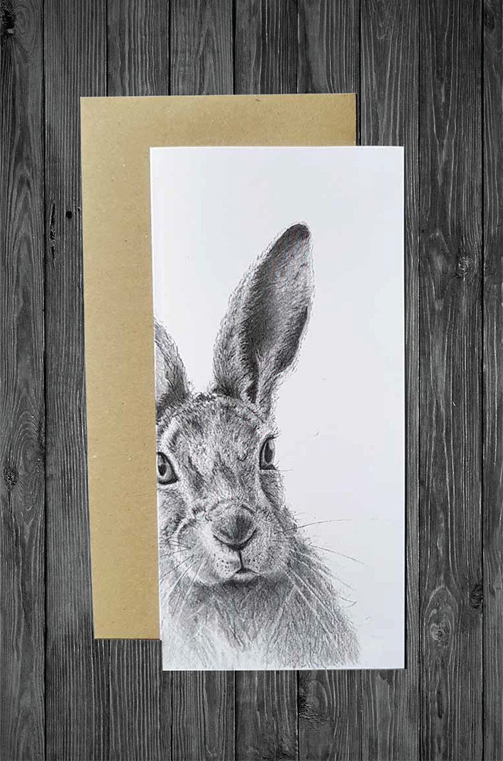 CATHY HAMILTON - HARE CARD
