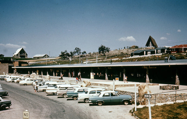 Vintage photo of Jindabyne Town Centre Circa 1960's