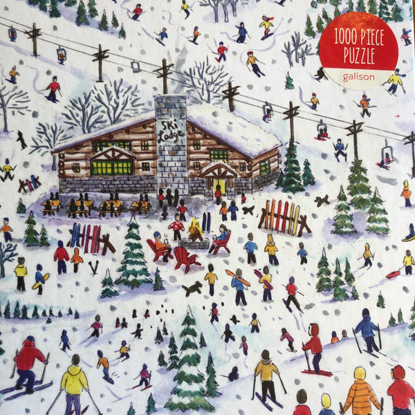 APRES SKI - 1000piece Jigsaw Puzzle by Michael Storrings