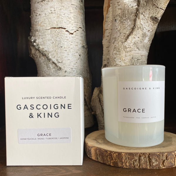 GASCOIGNE & KING - GRACE Candle 400g