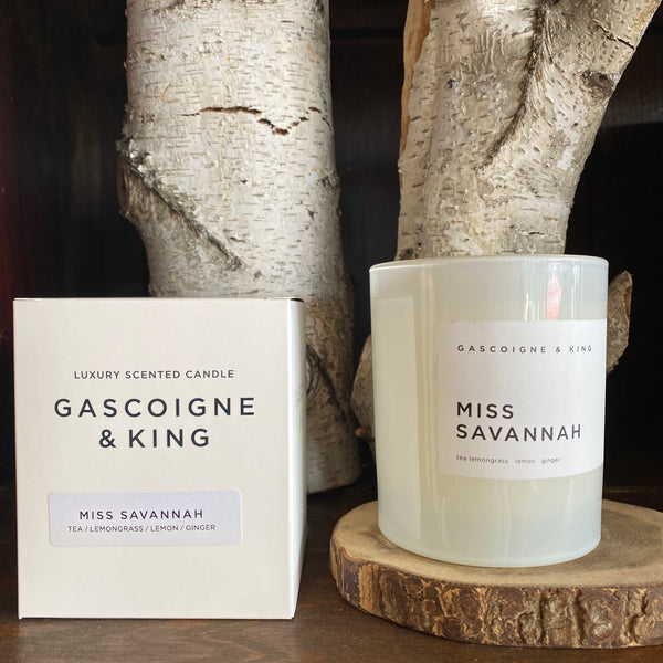 GASCOIGNE & KING - MISS SAVANNAH Candle 400g