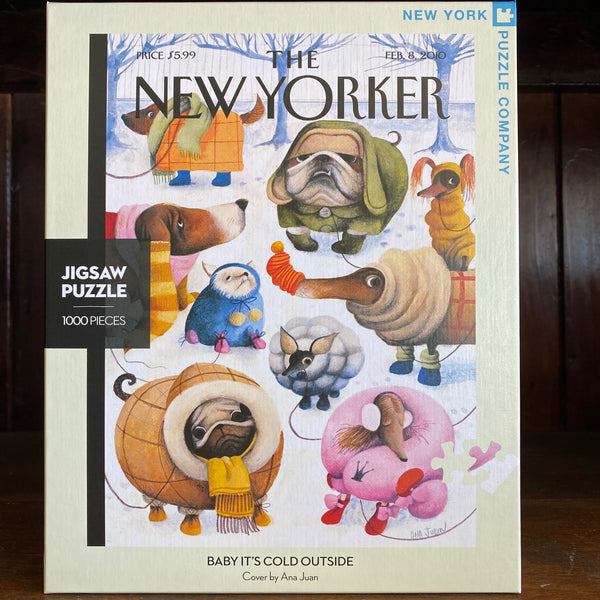BABY ITS COLD OUTSIDE - New York Puzzle Company 1000 pc JIGSAW