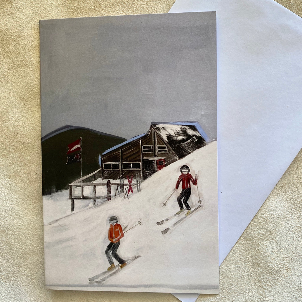 """ Next Run"" ART CARD by JUSTINE SLOUGH"