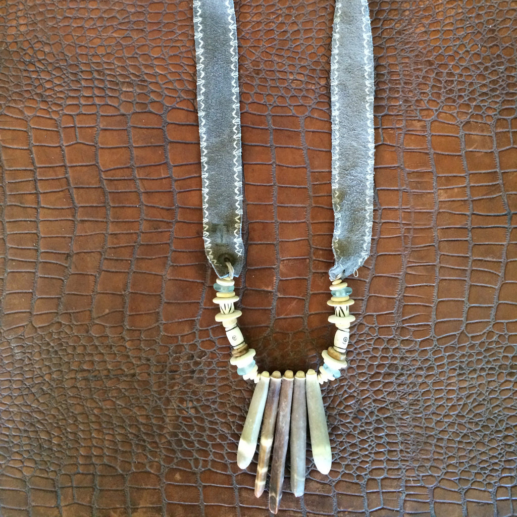 TWINE & TWIG STYLE - Shore Spines Necklace #3