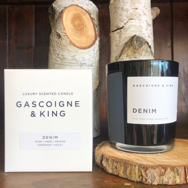 GASCOIGNE & KING - DENIM Candle 400g