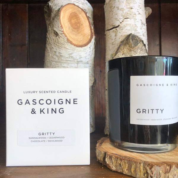 GASCOIGNE & KING - GRITTY Candle 400g