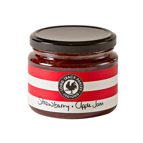 APPLE & STRAWBERRY JAM - Long Track Pantry
