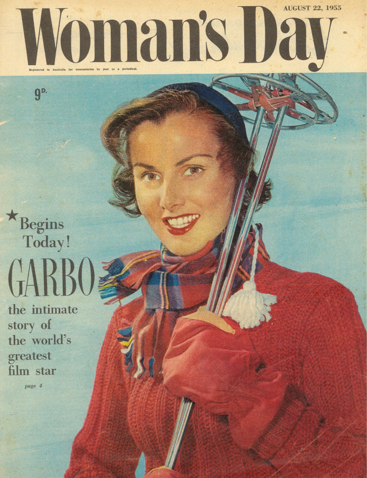 VINTAGE WOMENS Day Cover August 1955