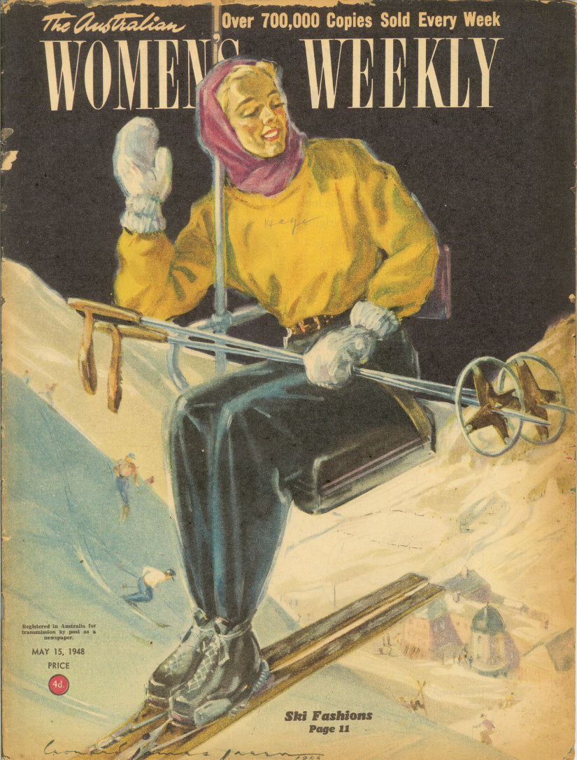 VINTAGE WOMENS WEEKLY Cover May 1948