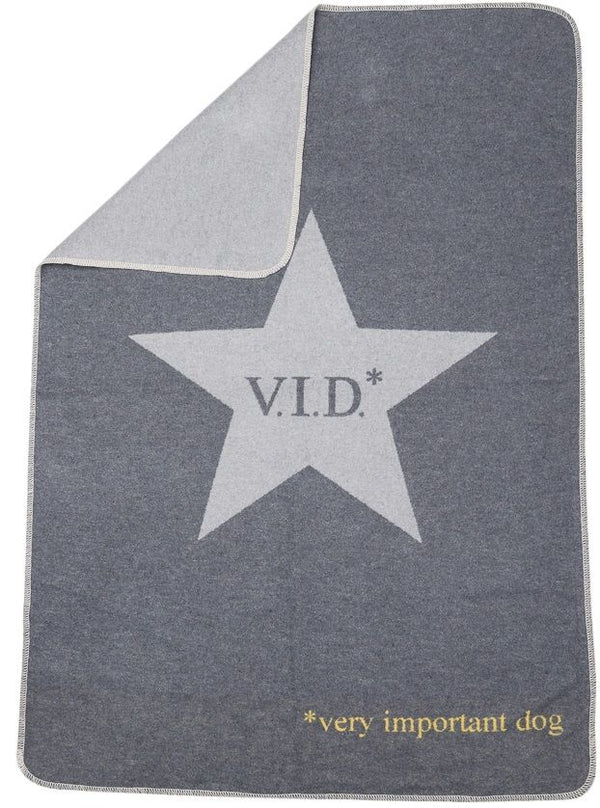 DAVID FUSSENEGGER - VIP Dog blanket - Grey
