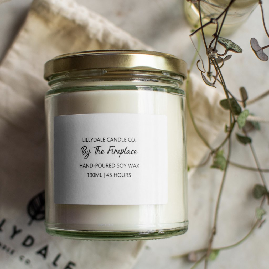 Lillydale Candle Co -By the Fireplace