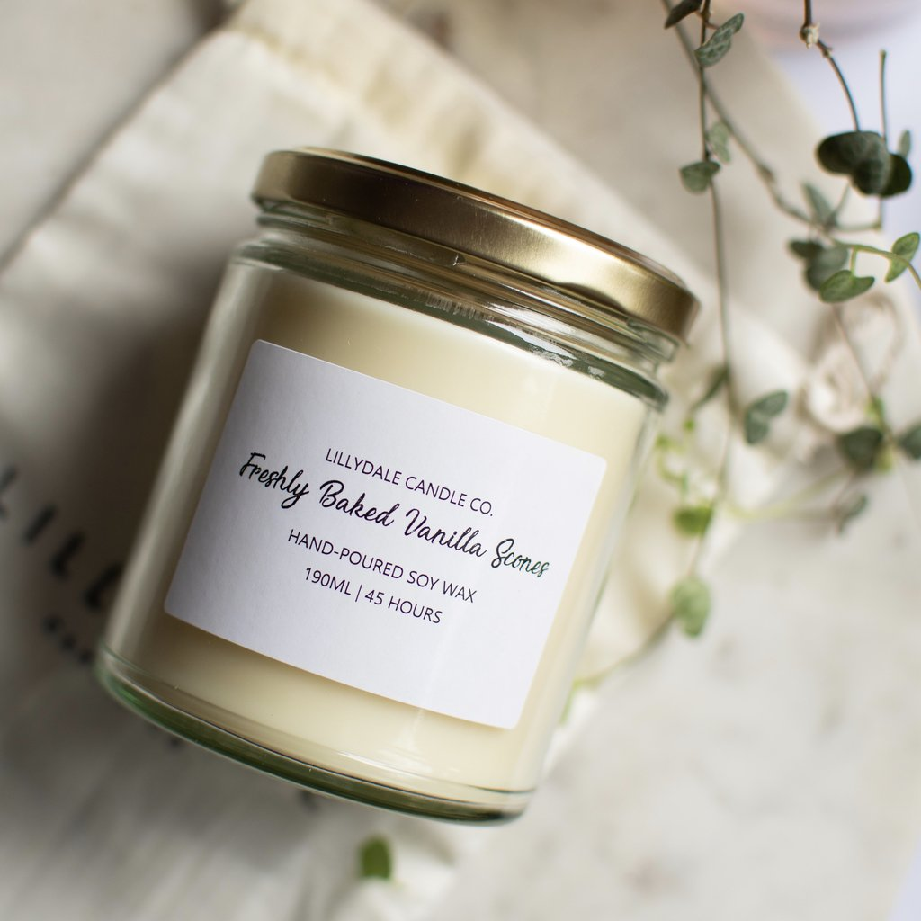Lillydale Candle Co  - Freshly Baked Vanilla Scones