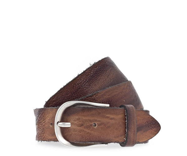 B BELT - LEATHER BELT - BAILEYS