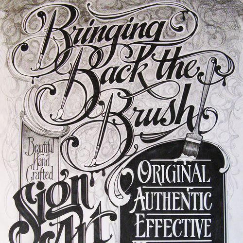 Hand Lettering Saturday 5 May 17:00 - 20:00
