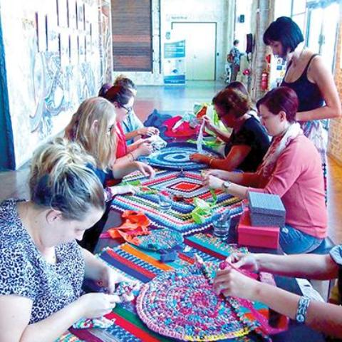 Rag Rugs with The Sewloist Saturday 5 May 12:00 - 14:00