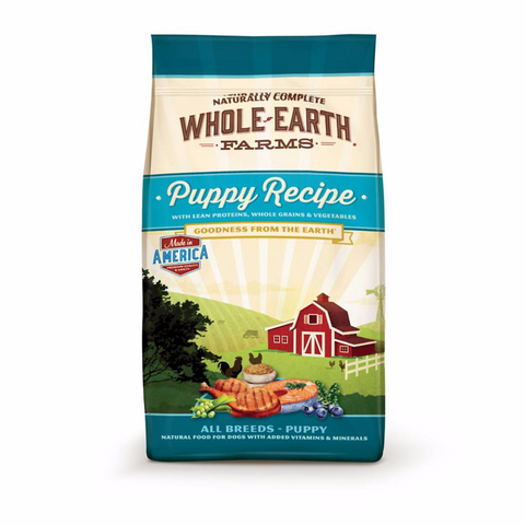 Whole Earth Farms Grain Free Healthy Puppy Recipe Dry Dog Food 4lbs - COMING SOON