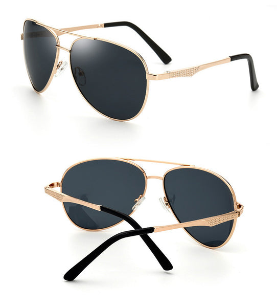 Men's oversized Aviator glasses