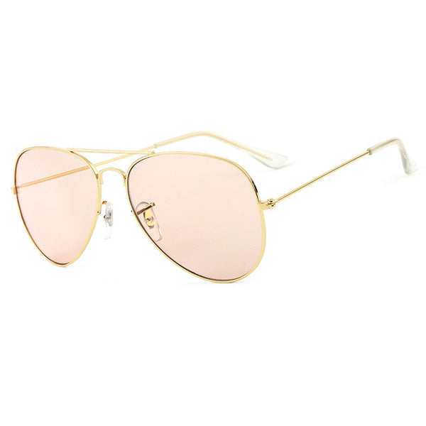 Women's basic aviator glasses