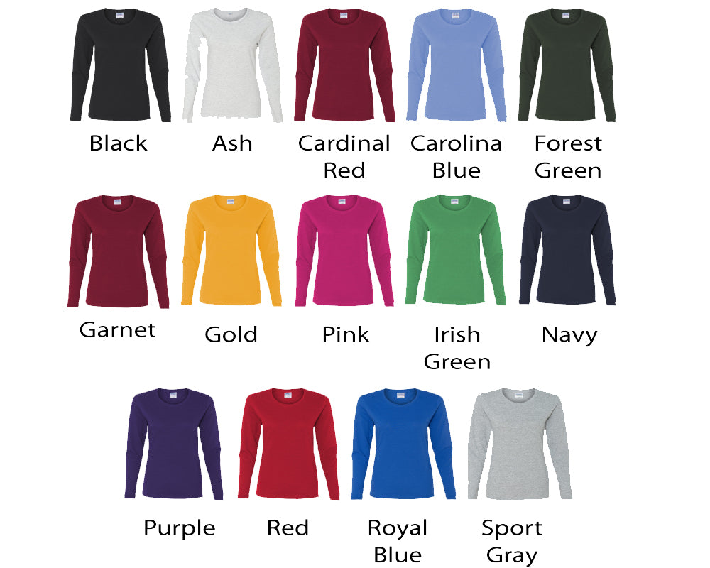 1fffb0003 ... Personalized Basketball Mom Glitter Bling Long Sleeve Women s Shirt  Fully Customized ...