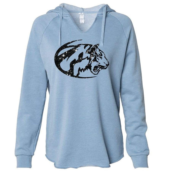 Eisenhower Tigers Premium Hoodie with glitter design