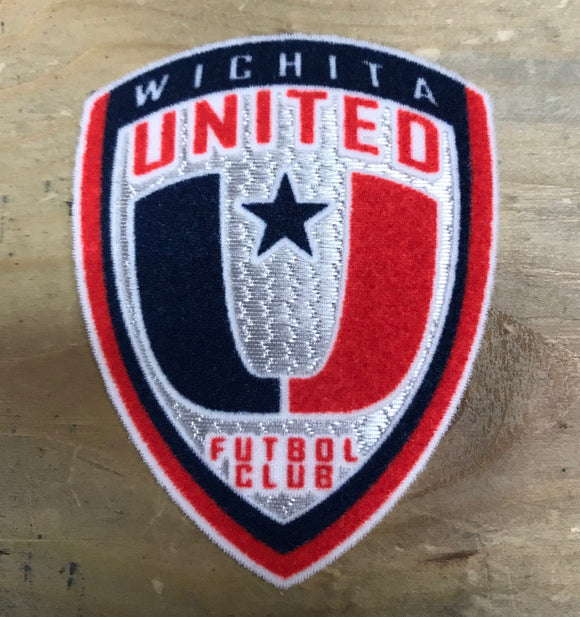 Wichita United Iron On Patch