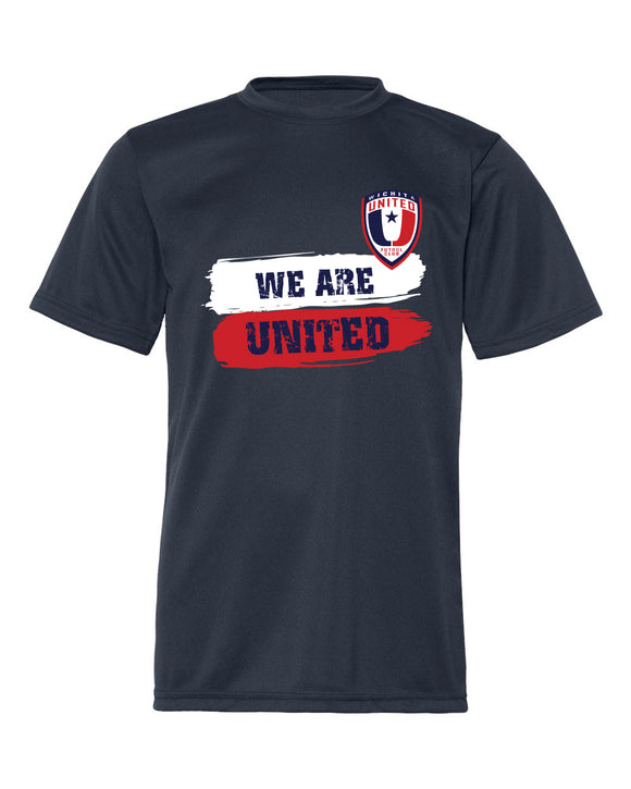 Cool Dri Men's Performance Navy We Are United Tee