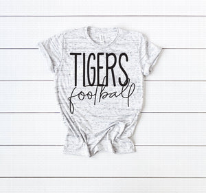 Tigers Football Unisex Tee Shirt Soft and Comfy Premium Tee