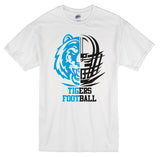 Eisenhower Tigers Football White Graphic Tee Shirt - On Sale for A Limited Time!