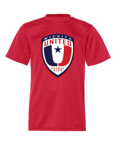 Cool Dri Men's Performance Red Wichita United Logo