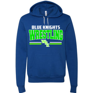 Blue Knights Wrestling Unisex Hooded Sweatshirt Very soft