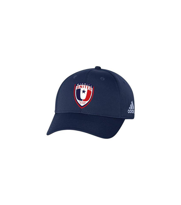 Wichita United Futbol Club Adidas Adjustable Navy Hat