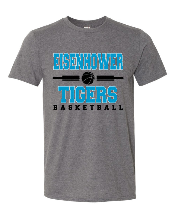 Eisenhower Tigers Basketball Unisex Tee Shirt Soft and Comfy