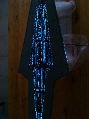 Starship Destroyer Model - The Force Forum