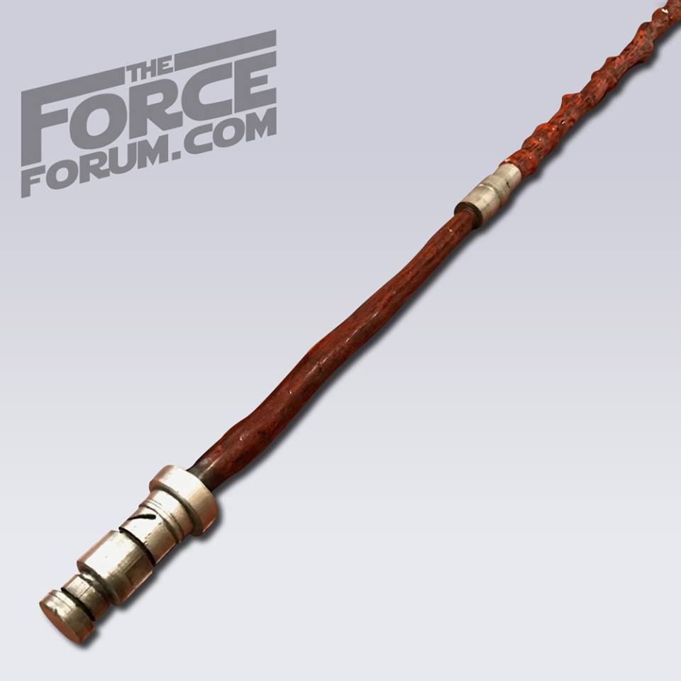 Blind Warrior's Combat Staff - The Force Forum