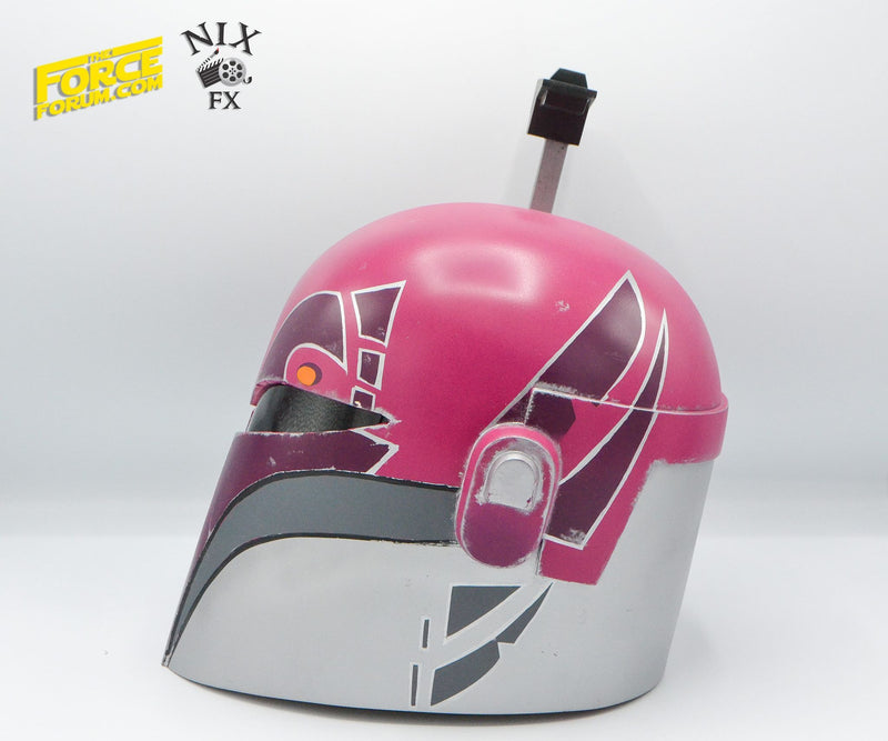 Rebellious Female Custom Helmet by Nick Anzalone - The Force Forum