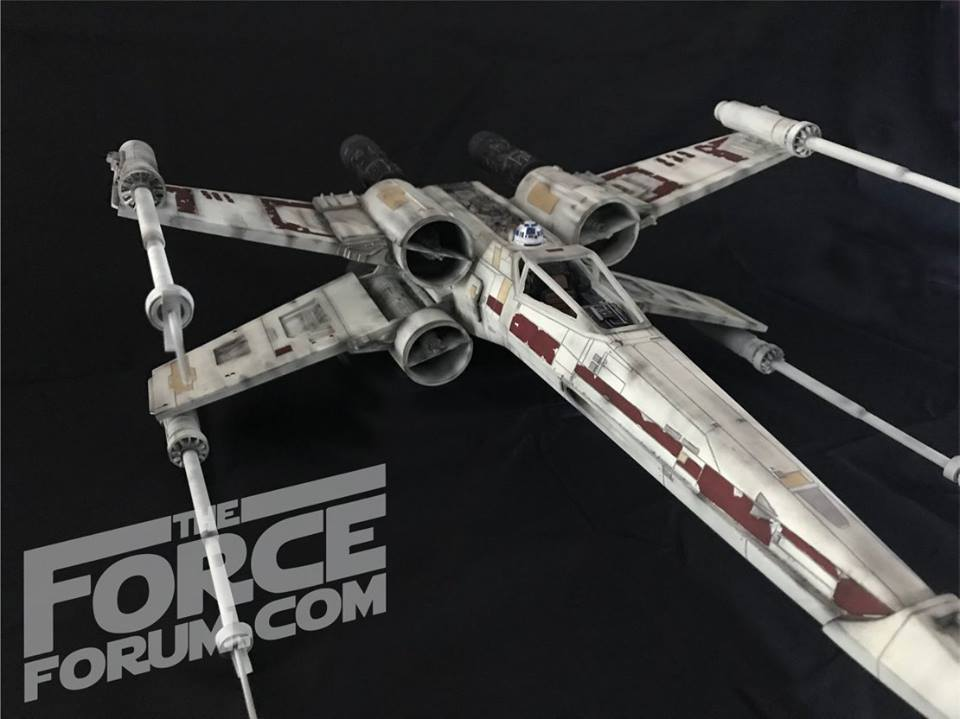 Spaceship X studio scale model - The Force Forum