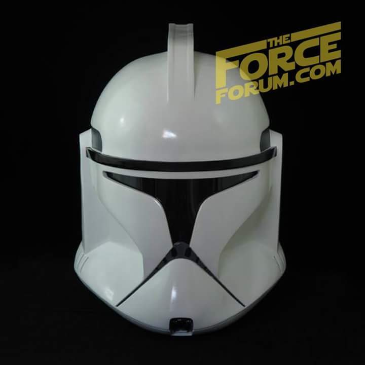 White P1 Clone Helmet - The Force Forum