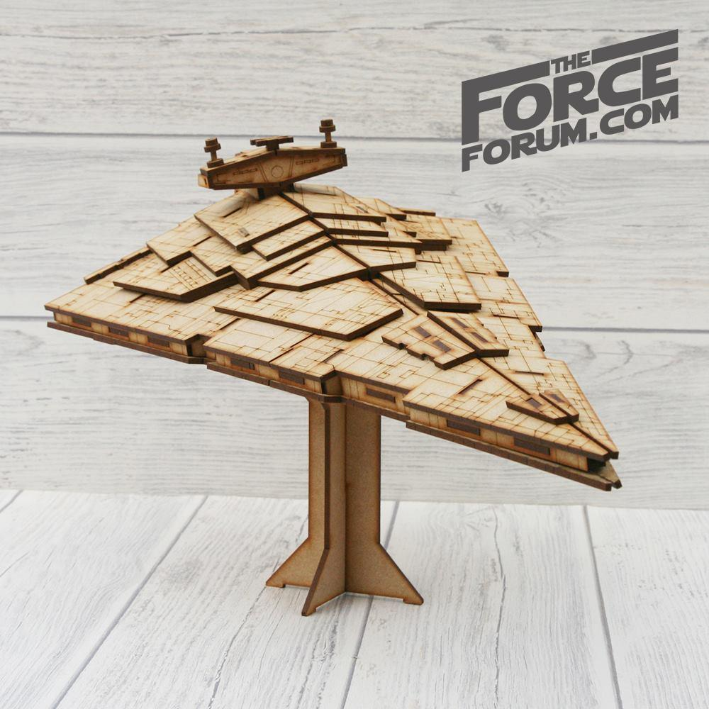 The Destroyer Wooden Model Kit - The Force Forum
