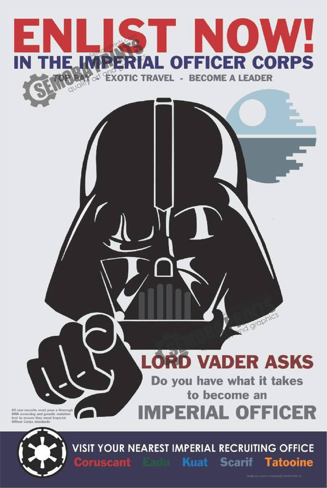 Dark Lord Enlist Poster
