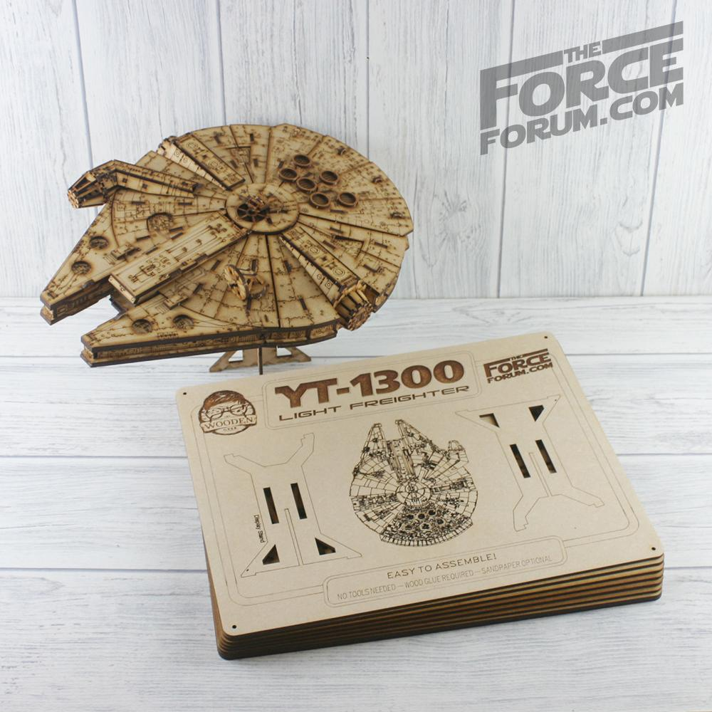Falcon Wooden Model Kit - The Force Forum