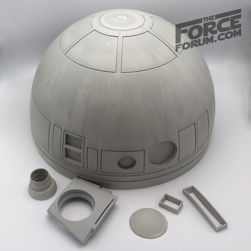 Lifesize R2 Astro Robot Raw Dome - The Force Forum
