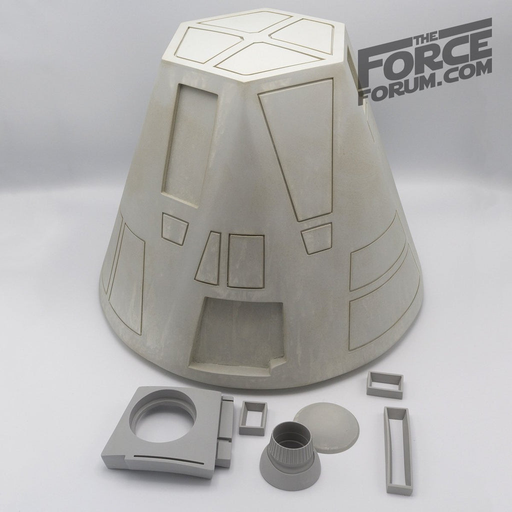 Lifesize R4 Astro Robot Raw Dome - The Force Forum