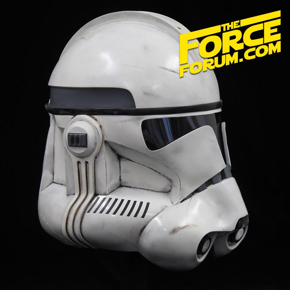 White P2 Clone Helmet - The Force Forum