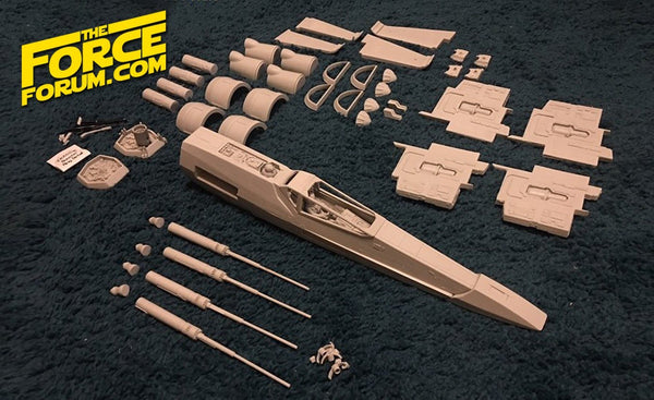 T-70 X Fighter 1/24 Studio Scale Model Kit - The Force Forum